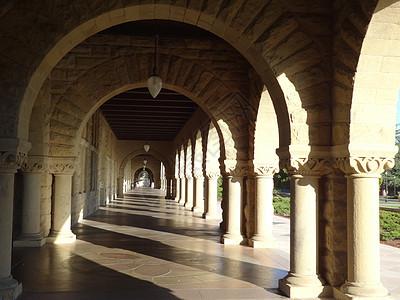 美国西部行斯坦福大学图片
