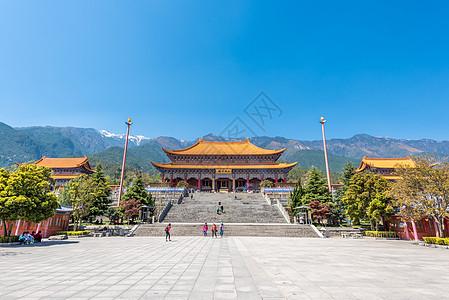 云南大理崇圣寺全景图片