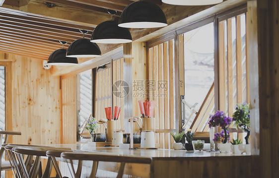现代中式餐馆图片