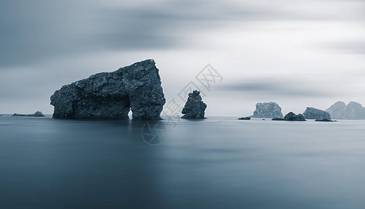 海岛礁石 海岸风光图片