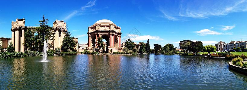 美国旧金山艺术宫图片