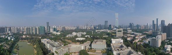 深圳大学全景长图图片