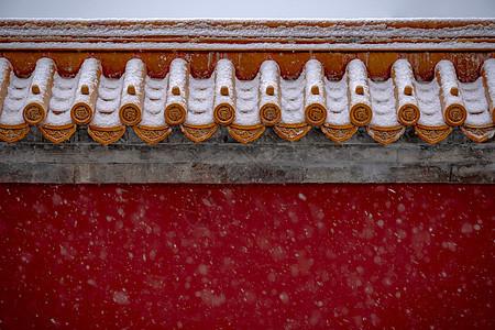 雪飘宫殿图片
