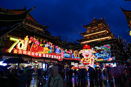 上海城隍庙灯会图片