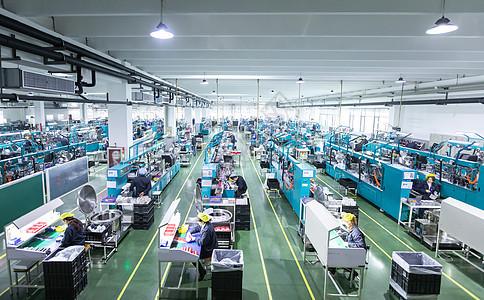 组装工厂车间图片