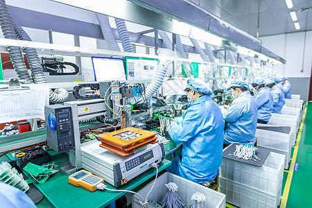 组装生产线工厂车间图片