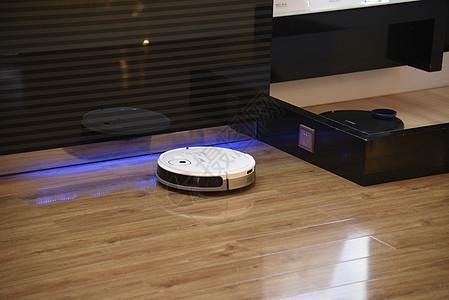 智能家居扫地机器人图片