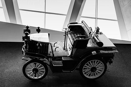 奔驰博物馆老爷车展品图片