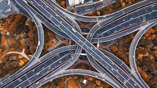 上海延安高架桥图片
