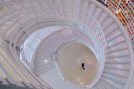 商业中心旋转楼梯图片