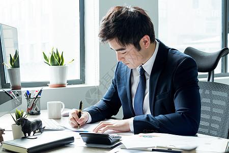 商务男性职场办公图片