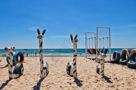 越南美奈海滩风景图片