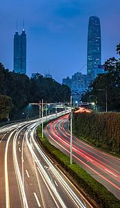 深圳城市延时图片