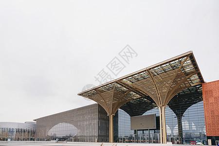 天津滨海文化中心图片