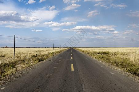 新疆自然风光公路交通图片