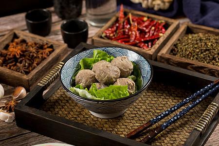 火锅配菜食材撒尿牛丸图片