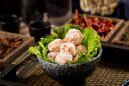 火锅食材虾丸丸子图片