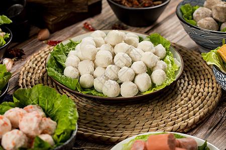 火锅食材鱼丸图片