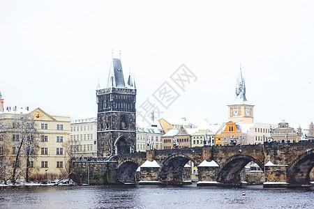 布拉格查理大桥图片