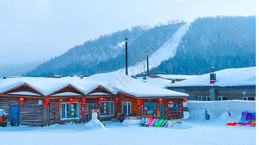 东北雪乡图片