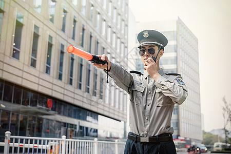 保安指挥动作图片