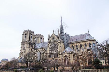 巴黎圣母院建筑群图片
