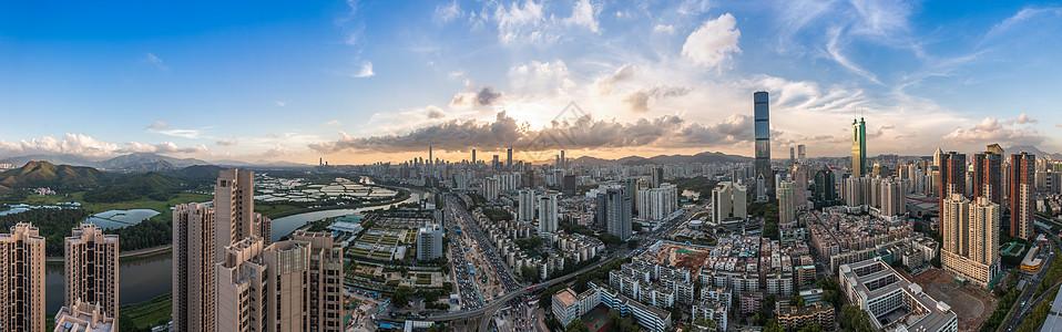 深圳城市全景图片