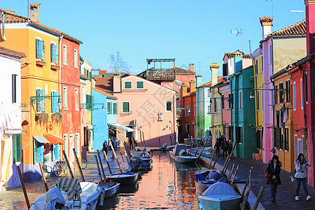威尼斯布拉诺岛图片
