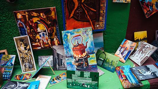 美术培训机构作品展示图片