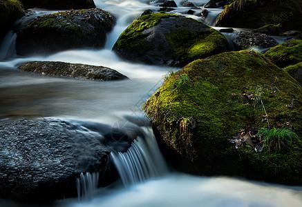 溪流风景图片