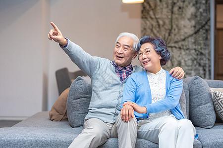 老年夫妻幸福形象图片