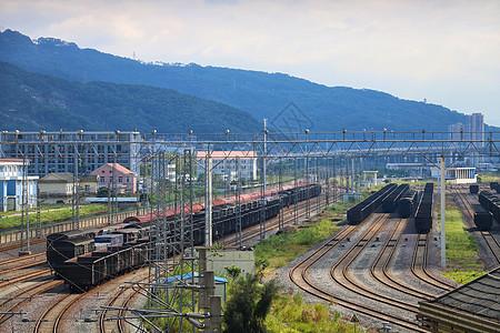 福州东站铁路图片