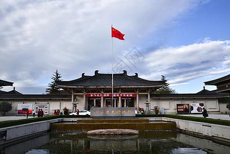 陕西历史博物馆大门图片