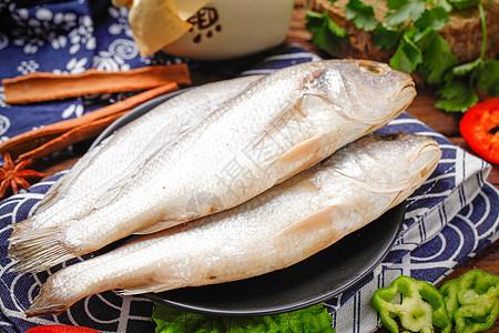 生鲜小黄鱼图片