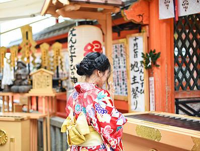 京都清水寺祈福图片