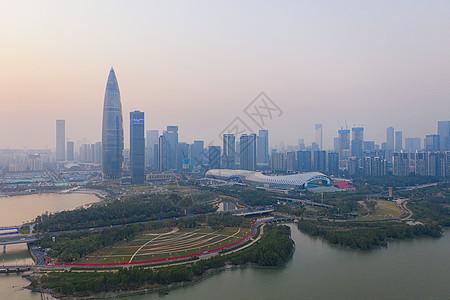 广东深圳地标深圳湾公园图片