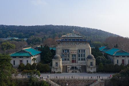 武汉大学地标行政楼图片