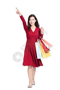 时尚女性购物图片