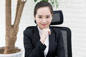 职场女性办公形象图片