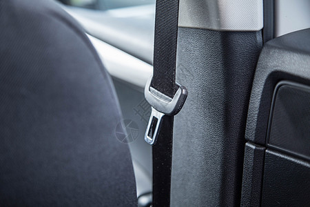 汽车安全带特写图片
