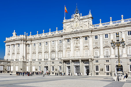 西班牙马德里皇宫图片