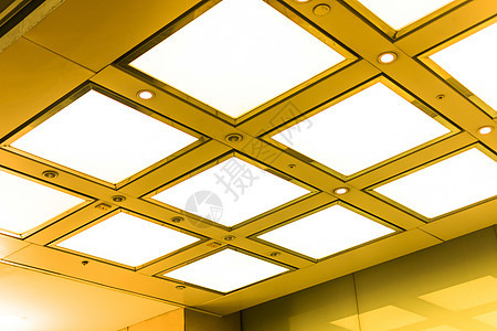 商场吊顶灯背景图片