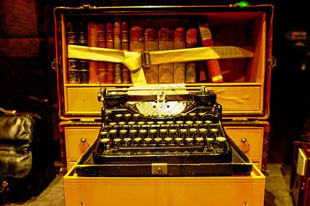 复古打字机图片