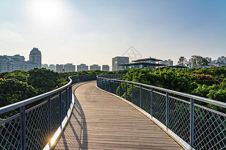深圳香蜜公园道路图片