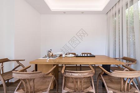 室内茶室空间图片