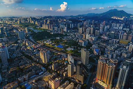 深圳罗湖区城市建筑群图片