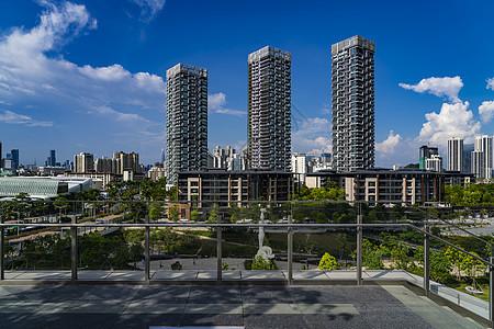 深圳南山区蛇口城市建筑群图片