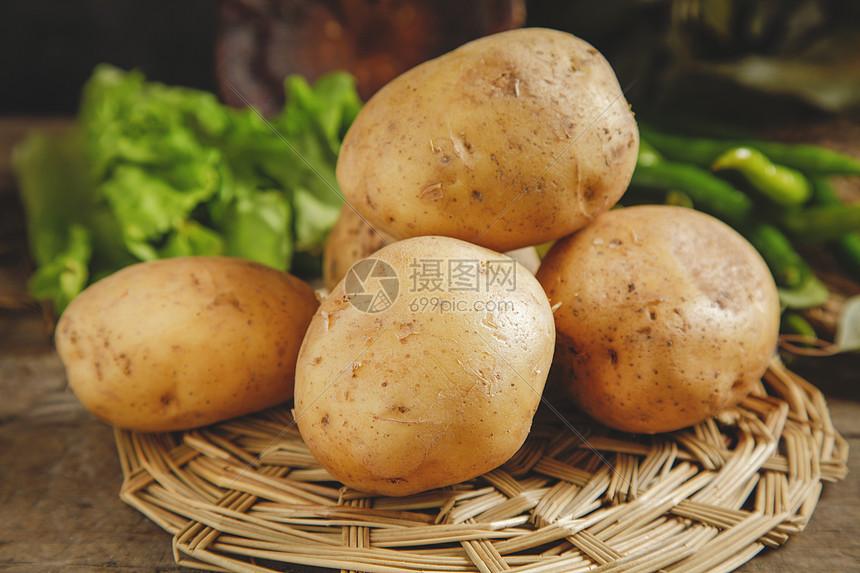 黄心土豆图片