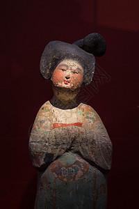 各式西安博物馆侍女陶俑图片