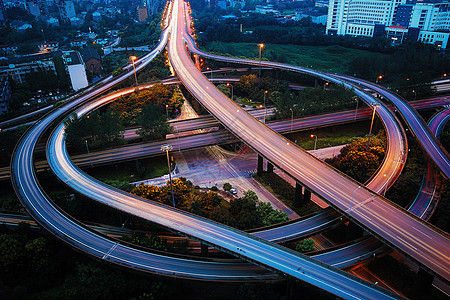 成都城市高架桥图片